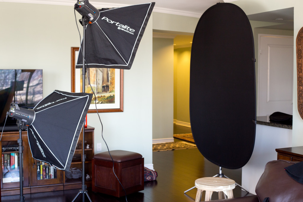 Where the magic happens! You don't need lots of fancy equipment, but a basic neutral backdrop and lights are essential. While natural light shoots are becoming popular, a fashion photographer must be a master of studio photography.
