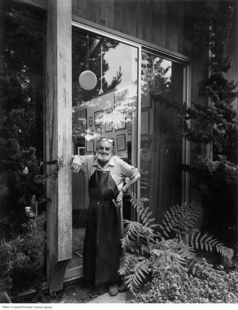 367954 01: ***EXCLUSIVE*** Portrait of Ansel Adams, American landscape photographer, August 7, 1976 in Carmel, California. (Photo by Arnold Newman/Getty Images)