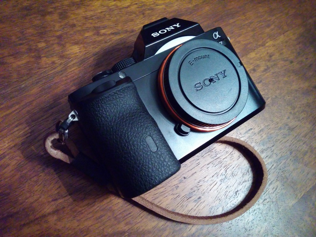 Camera with pinhole body cap