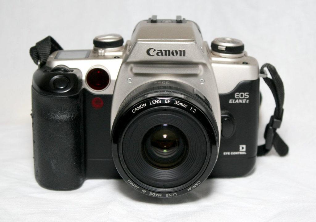 My_Canon_Elan_IIe_(4659431483)