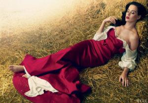 Snow White Vogue Katy Perry